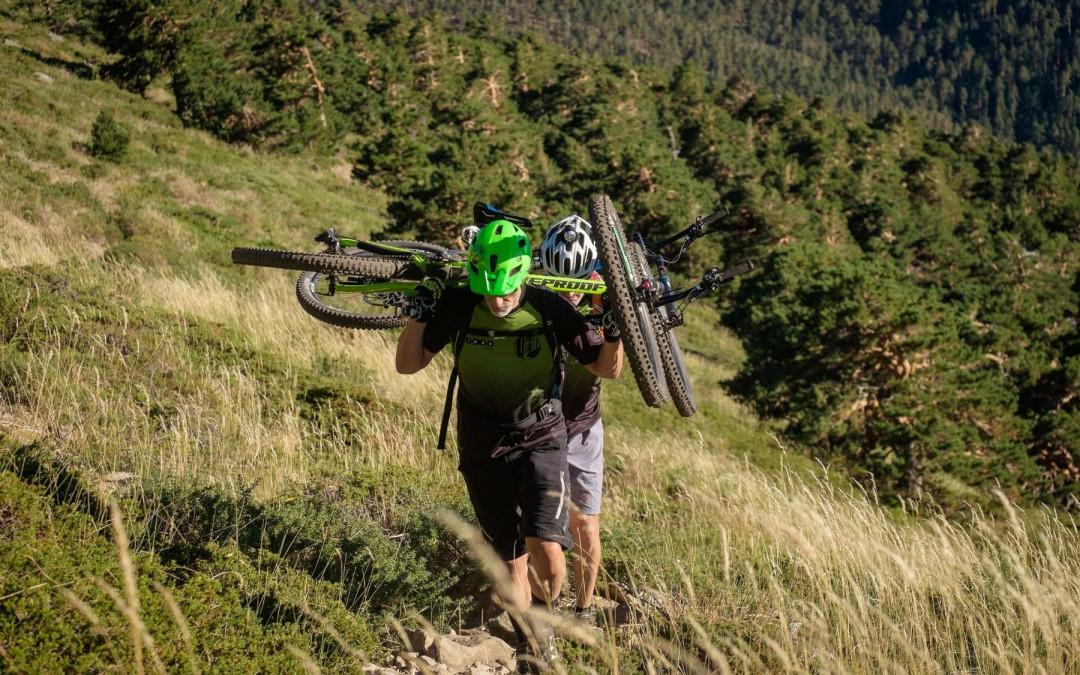 Rutas de Cicloalpinismo